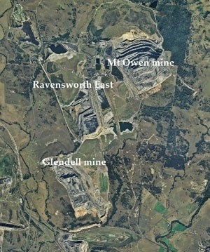 Aerial Views Of Newcastle Coal Industry And Glencore Plc Coal ...