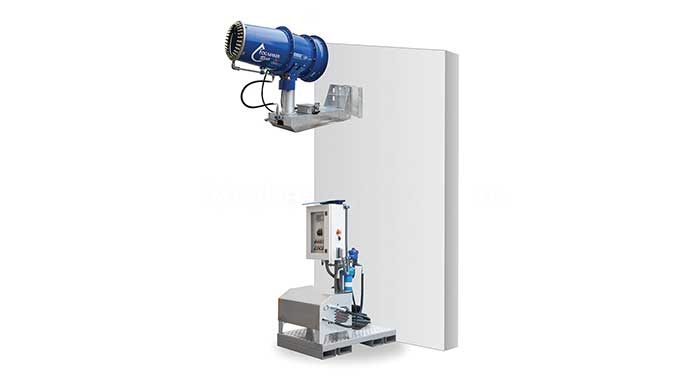 Tecpro – Save Floor Space With Rino Wall Mounted Mist Cannon