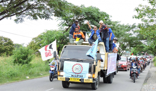 IndustriALL Global Union leads Indonesian Strike Mission