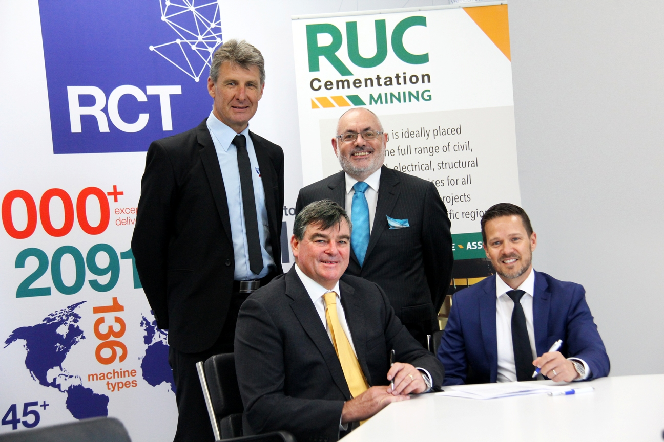RCT and RUC Cementation Mining Contractors partnership