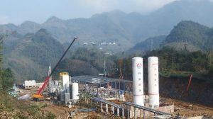 Jereh Group's completed new shale gas liquefaction plant in the Sichuan Province