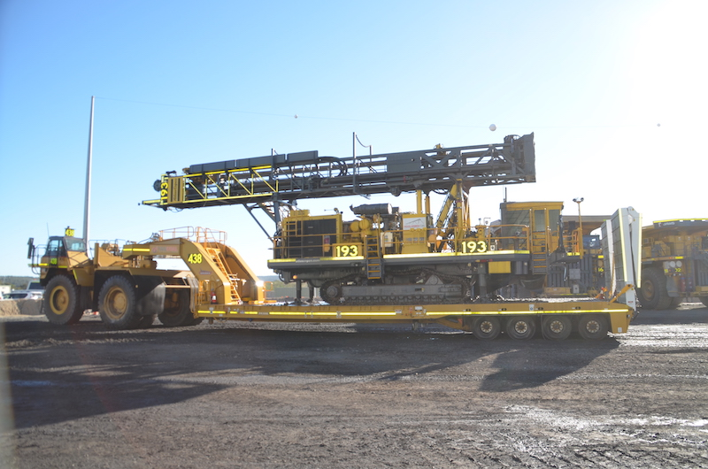 Drake Trailers completes major modification for Moolarben Coal