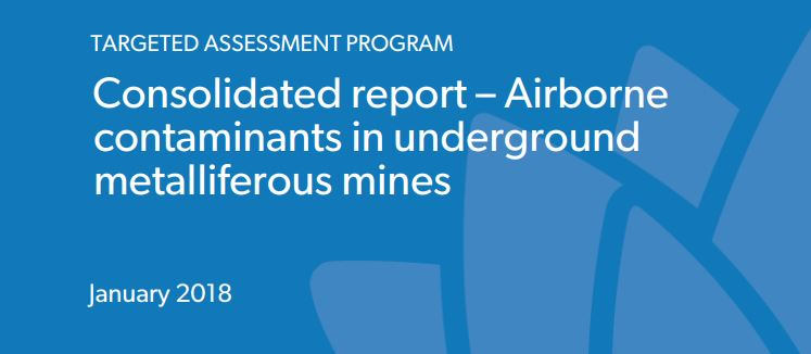 Targeted Assessment Report: Airborne contaminants underground