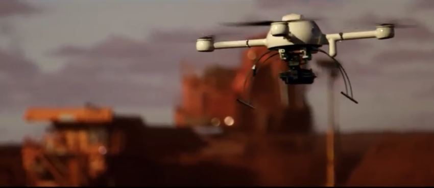 Australia's innovative minerals sector promotes drone technology in new ad