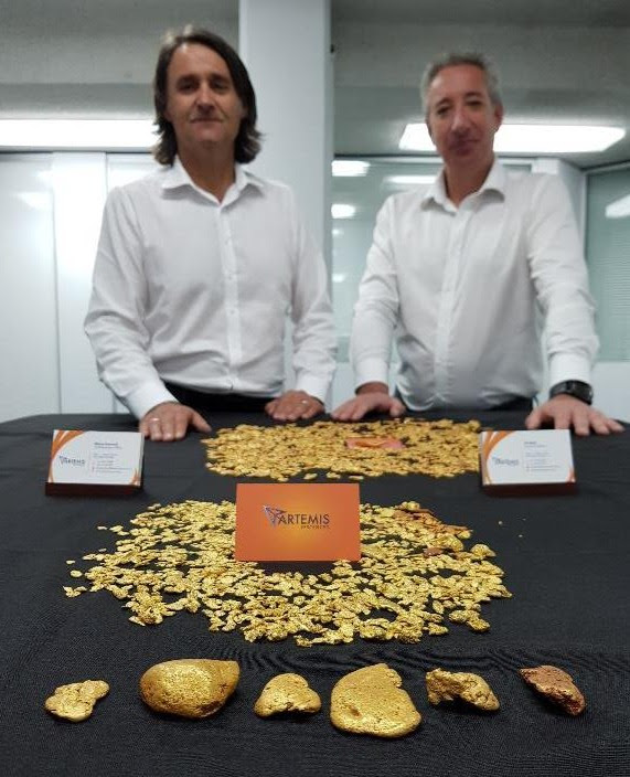 225 OUNCES OF GOLD NUGGETS RECOVERED