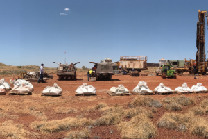 Artemis Resources tailing storage facility