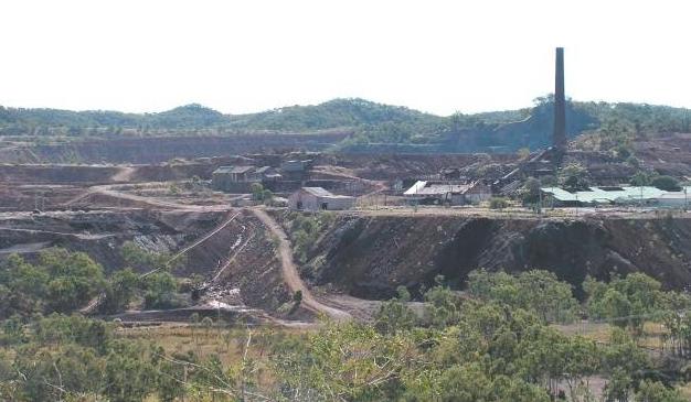 Mount Morgan mine site
