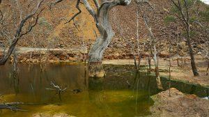 Runoff from the Brukunga Mine