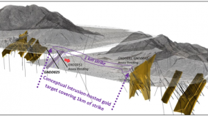 CEL makes new gold discovery at its Hualilan Project