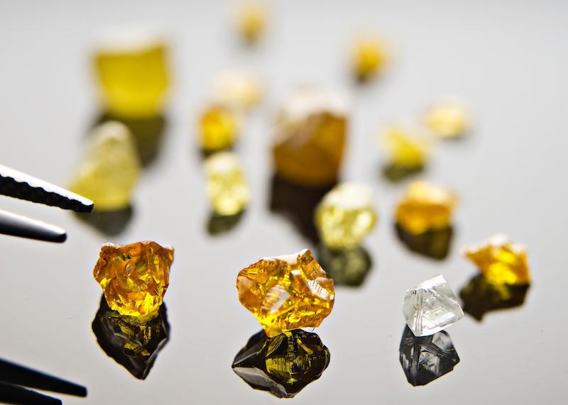 Naujaat diamond project