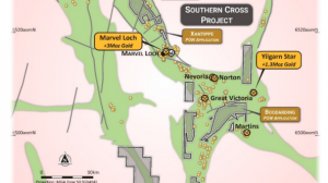 Southern Cross Gold Project